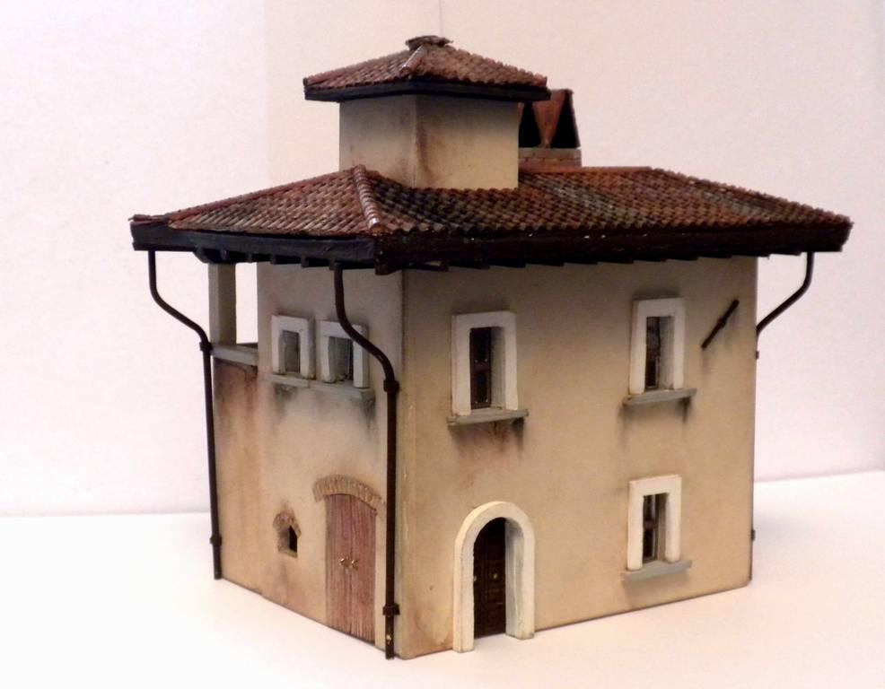 Bottega dei plastici 091 come realizzare una casa rurale for Case da costruire