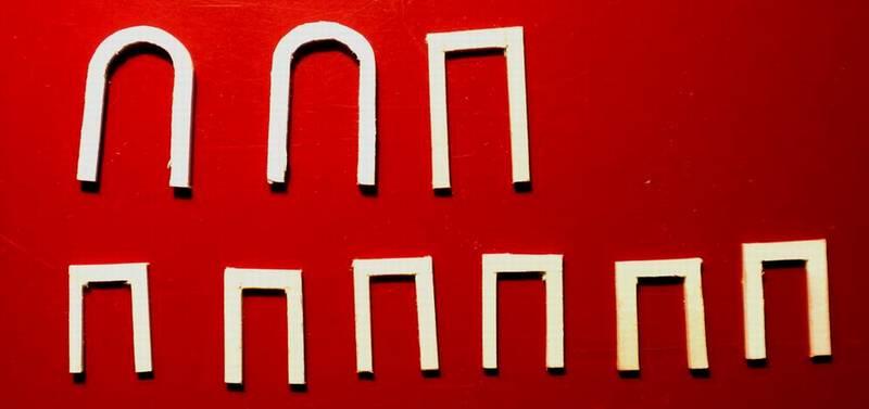 Bottega dei plastici 091 come realizzare una casa rurale - Imbotti in alluminio per finestre ...