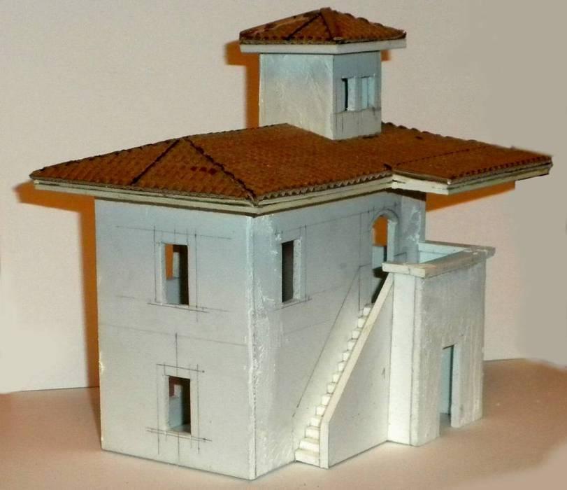 bottega dei plastici_091 come realizzare una casa rurale con il forex
