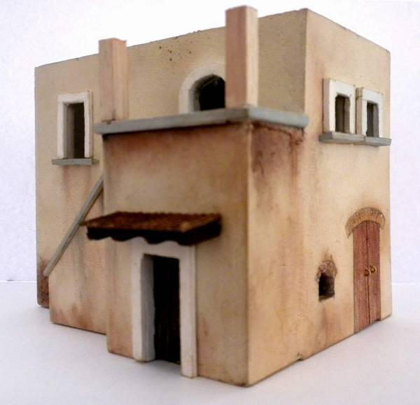 Bottega dei plastici 091 come realizzare una casa rurale for Creare una piantina della casa