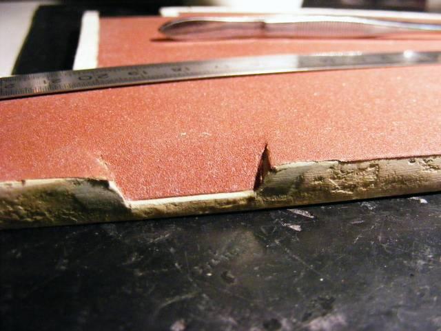 Bottega dei plastici 020 come realizzare un marciapiede in for Scivolo in ferro usato