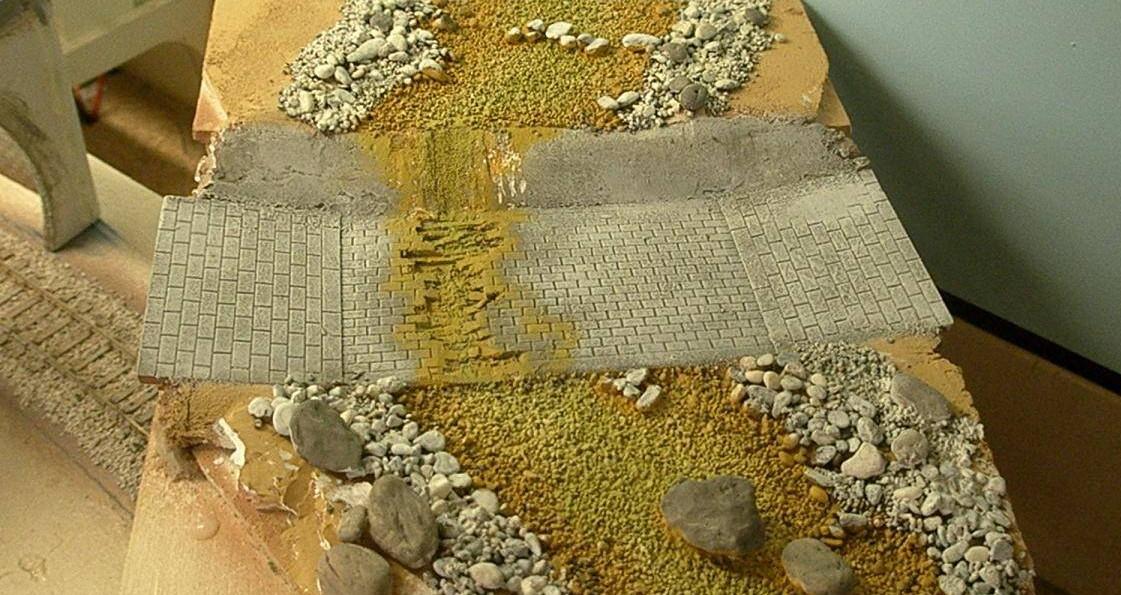 Bottega dei plastici 069 come realizzare un torrente in - Letto di un fiume ...