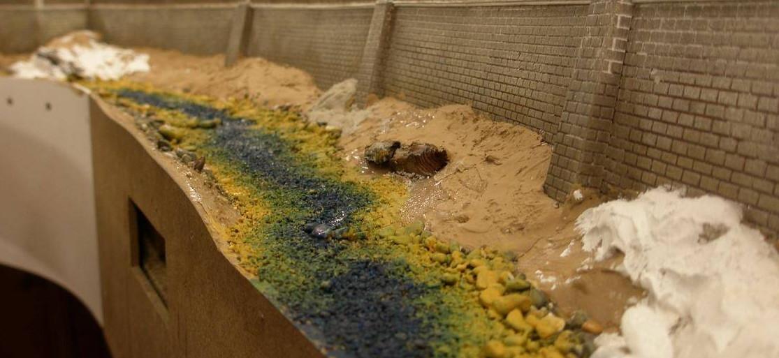 Bottega dei plastici 069 come realizzare un torrente in - La valigia sul letto torrent ...