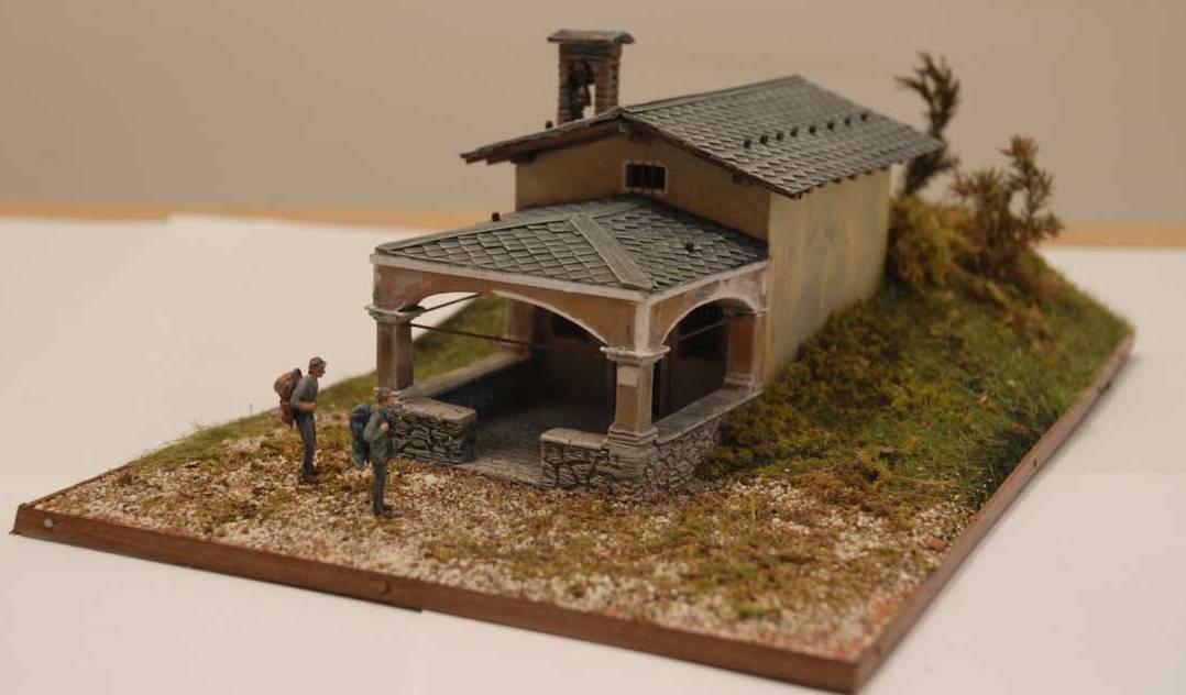 Bottega dei plastici 078 come realizzare una chiesetta for I costruttori costano per costruire una casa