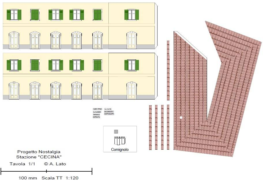 Bottega dei plastici 133 come realizzare le stazioni for Costruire case modello