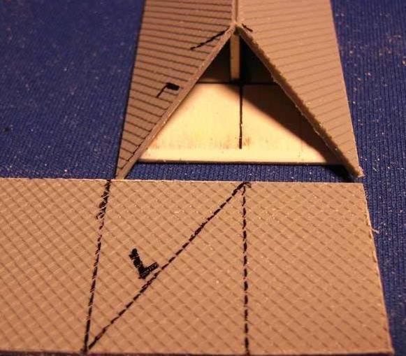 Bottega dei plastici 122 come realizzare un tetto a 4 for Inquadratura del tetto del padiglione