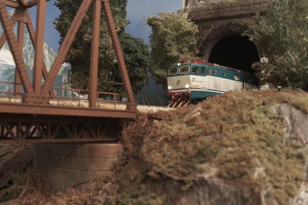 168 plastico ferroviario treni in casa for Ponte sul davanti della casa