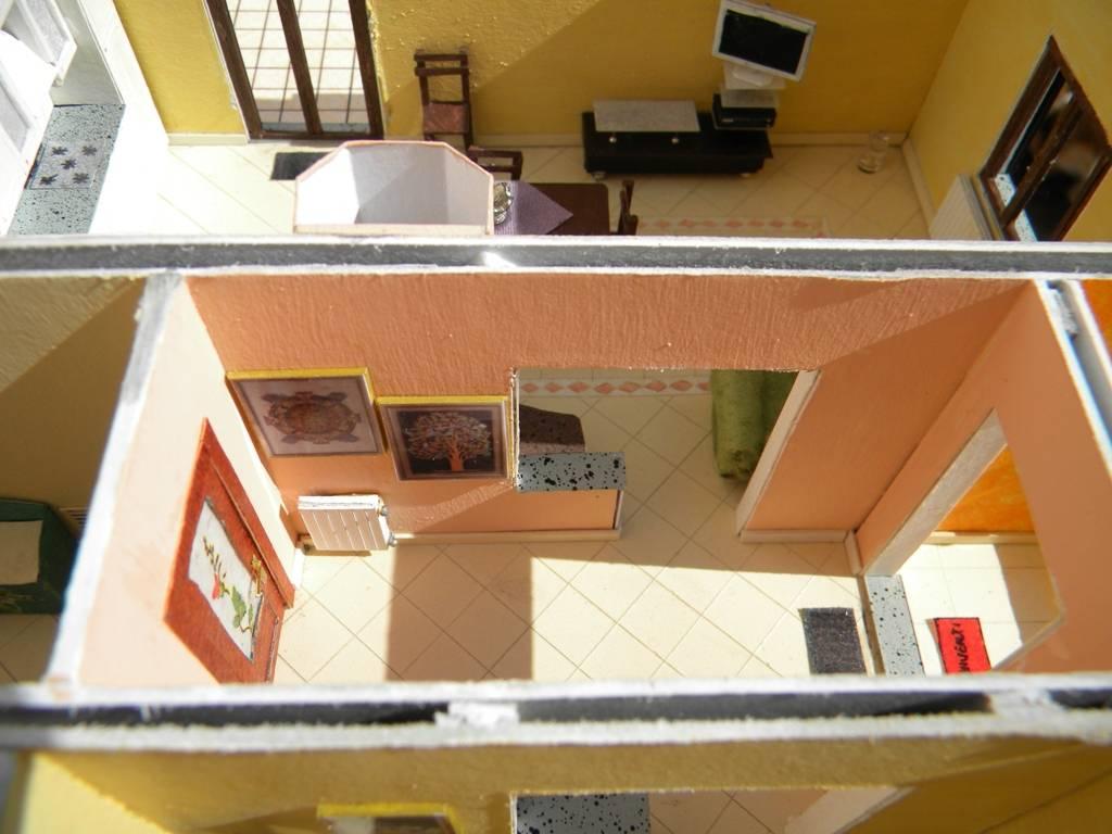 """067_diorama """"la casa di Valy e Fede in scala 1:43"""""""