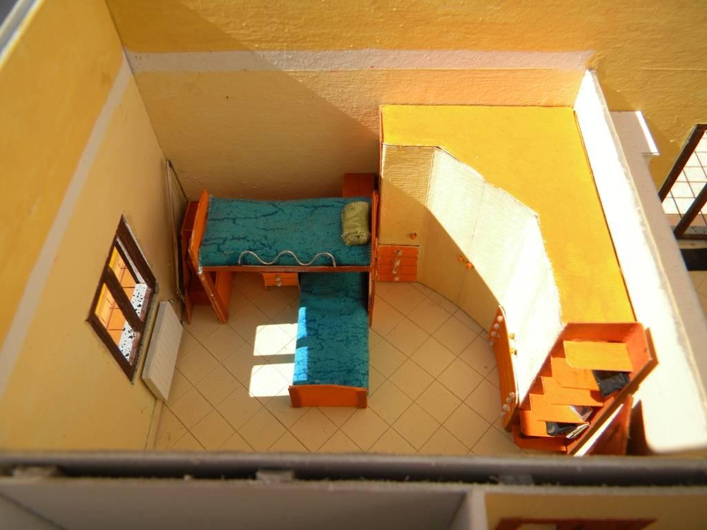 067 diorama la casa di valy e fede in scala 1 43 for Piani di aggiunta della camera da letto del primo piano