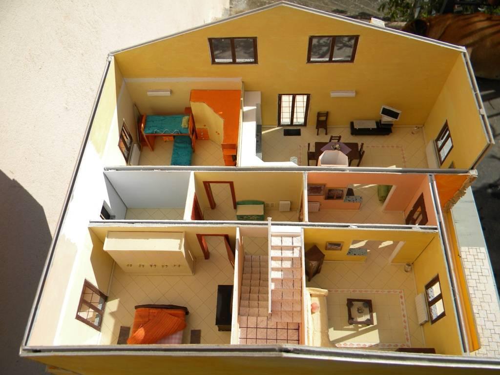 067 diorama la casa di valy e fede in scala 1 43 for 1 piano 3 camere da letto 2 piani del bagno