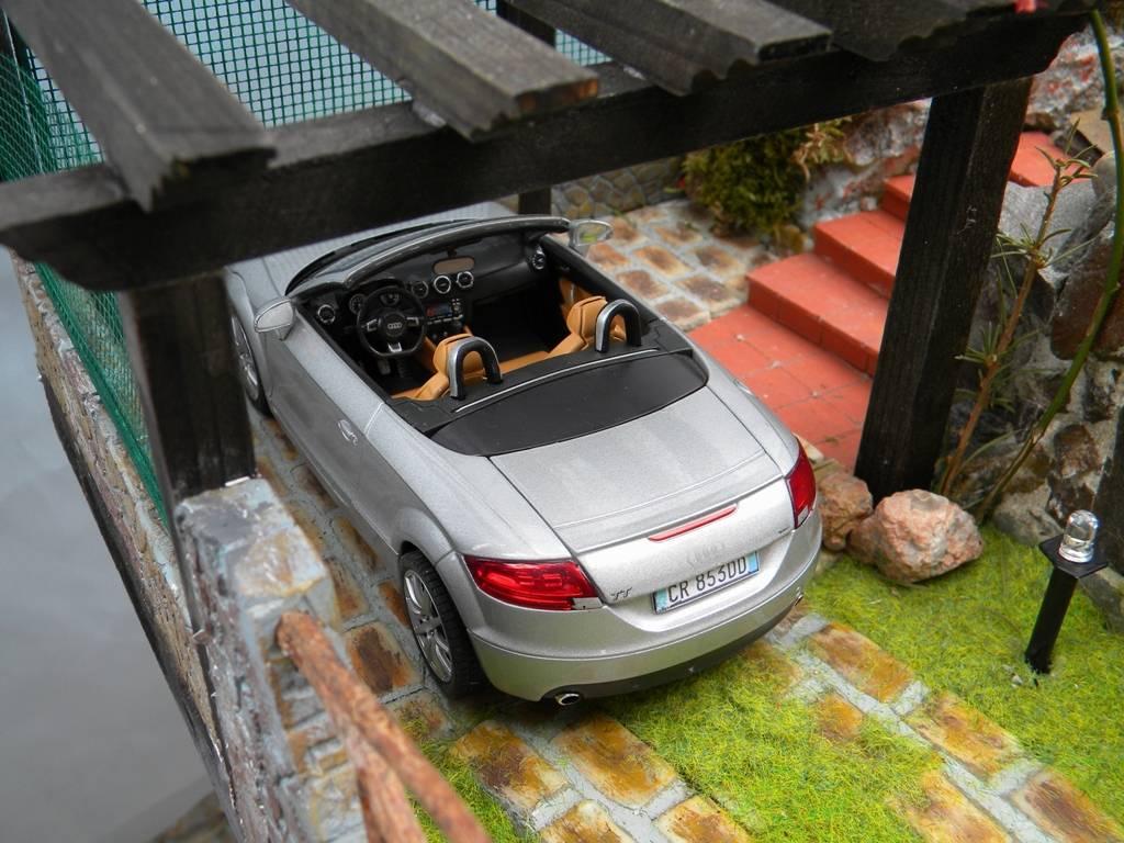 074 diorama villa ida for Kit per posto auto coperto