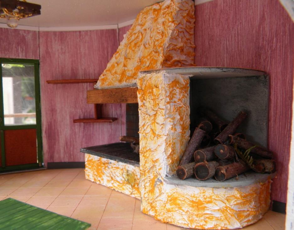 """074_diorama """"Villa Ida"""""""