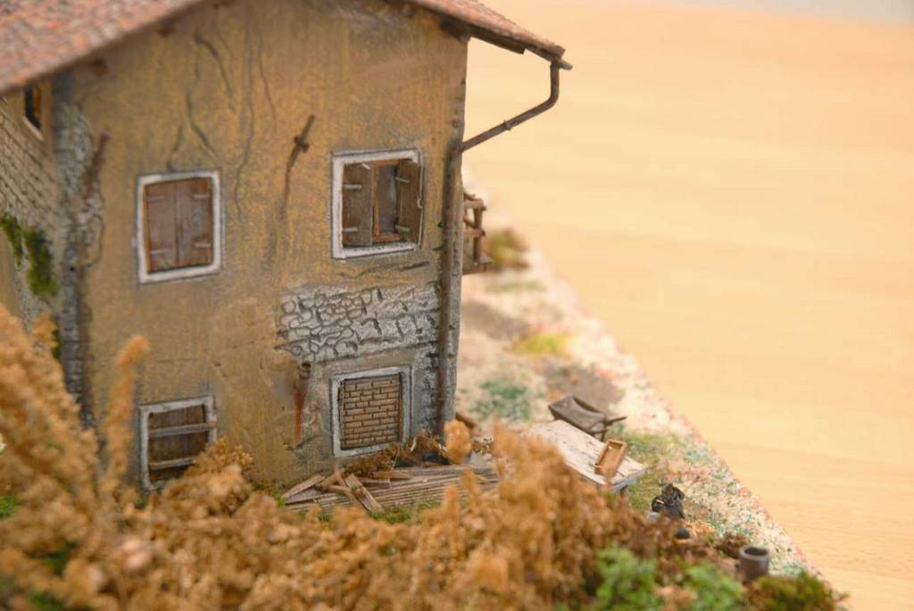 102 diorama una casa di campagna diroccata for Case di campagna progettano l australia