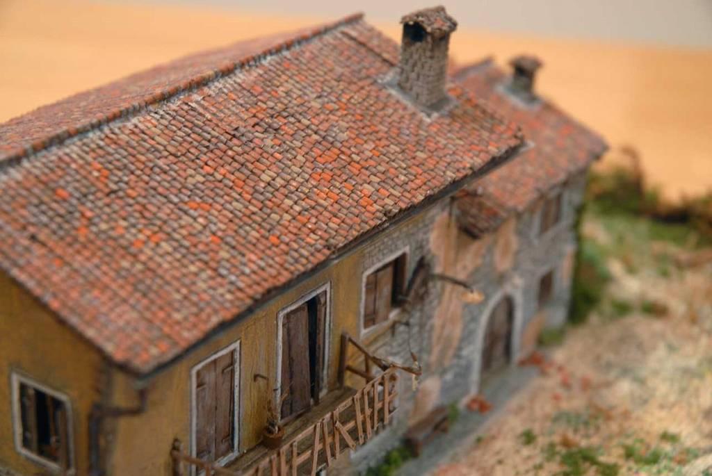 102 diorama una casa di campagna diroccata for Esterno di case di campagna francesi