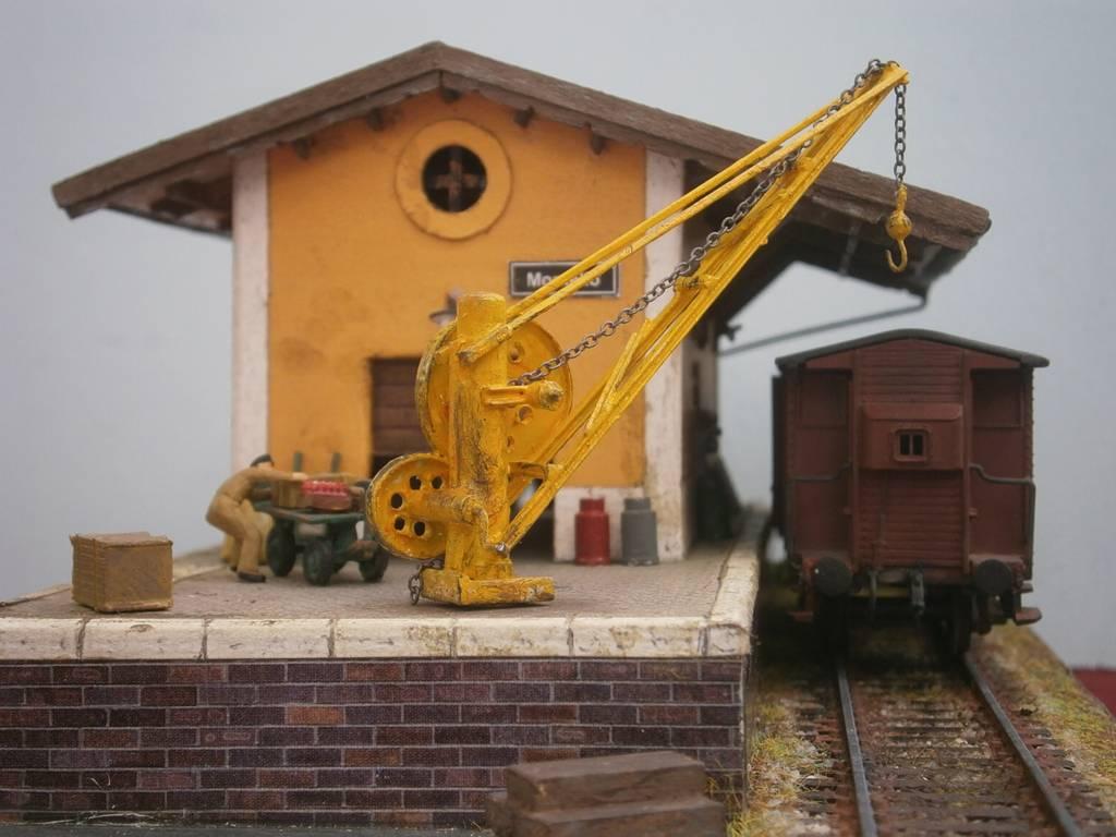 108 diorama ferroviario il magazzino di montello for Piano del magazzino