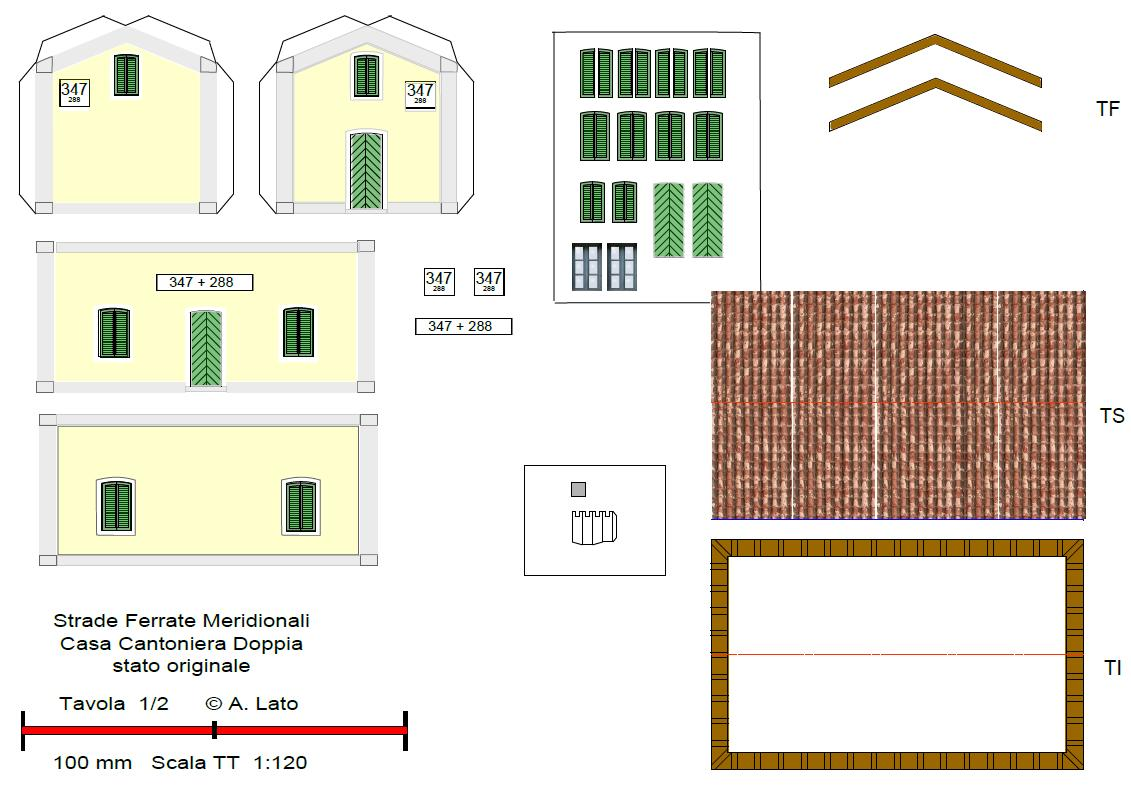 Scala tt il forum sulla scala perfetta casello sfm - Casette di cartone da costruire ...