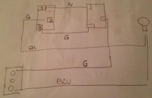 Schema Elettrico Due Deviatori : Invertitore elettrico youtube