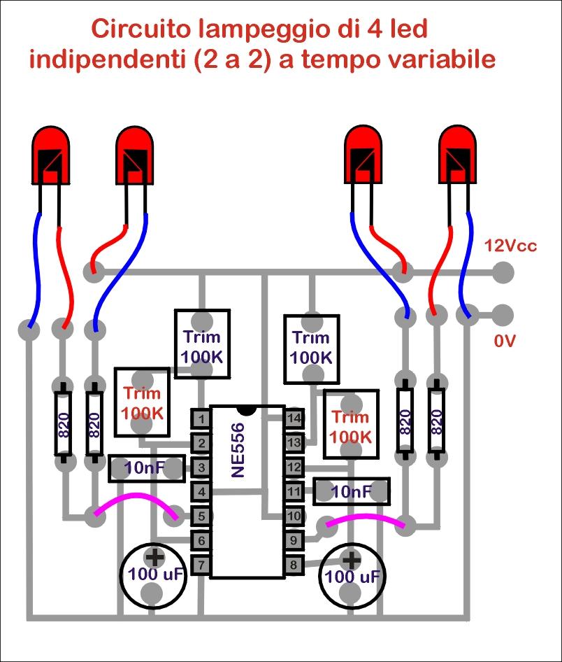 Schema Elettrico Per Lampeggio Led : Scala tt il forum sulla quot perfetta circuiti