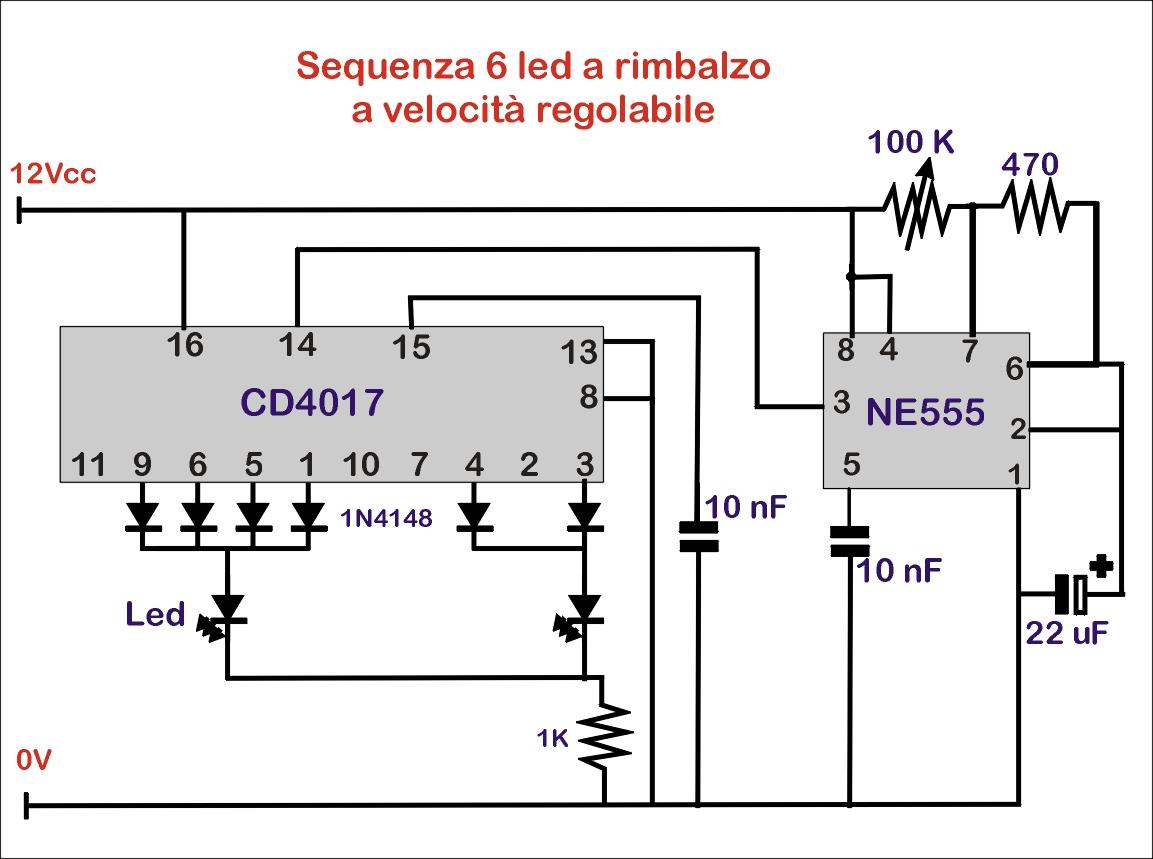 Circuito Ne555 : Circuito astable con c i kekelectronica