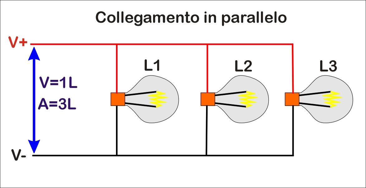 Schema Elettrico Per Lampadario : Collegamento fili lampadine design per la casa idee